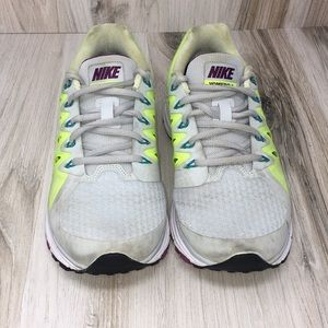 Nike Vomero 9 Neon & Gray Sneakers